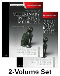 Textbook of Veterinary internal medicine 8th edition, Vol. 1&2