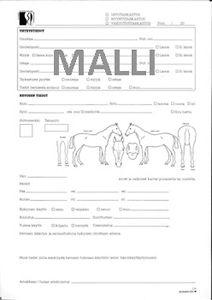 Hevosen ostotarkastuslomake (SEP)