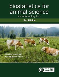 Biostatistics for Animal Science: An Introductory Text, 3rd edition
