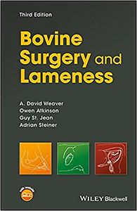 Bovine Surgery and Lameness Third Edition